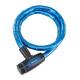 Masterlock 8228 PanzR Kabelschloss 18 mm x 1.000 mm blau